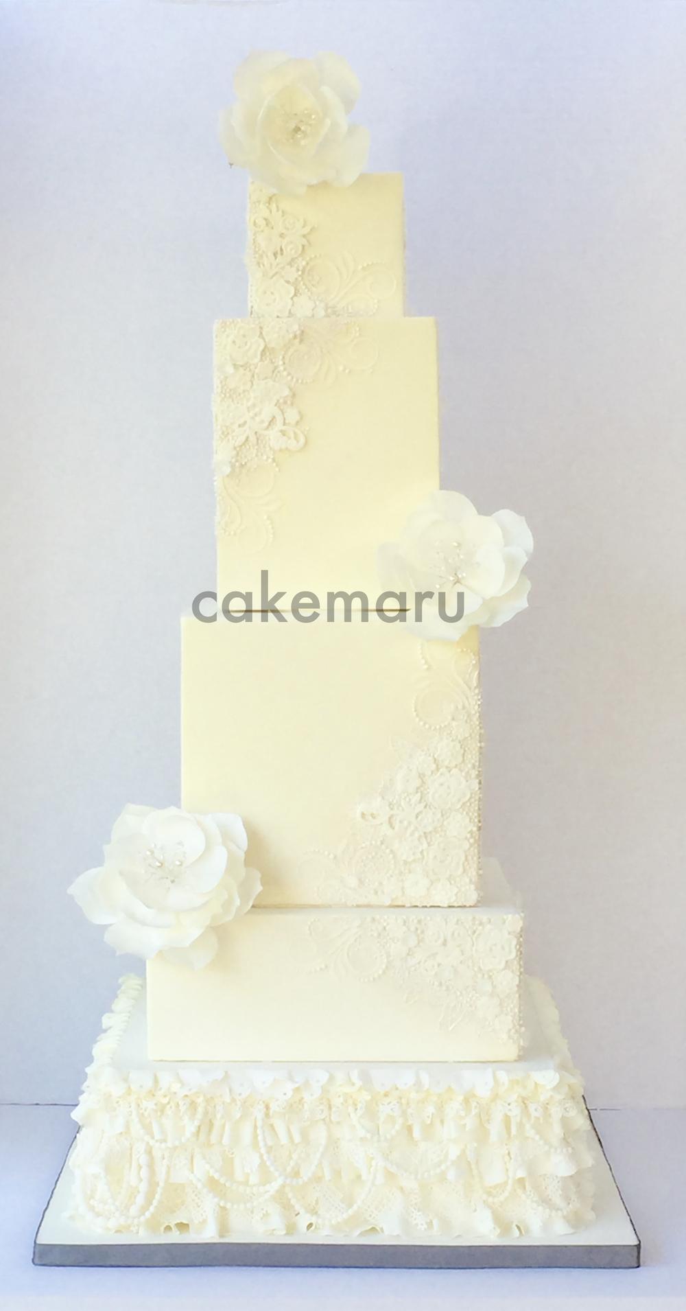 Beaded Lace Wedding Cake.jpg
