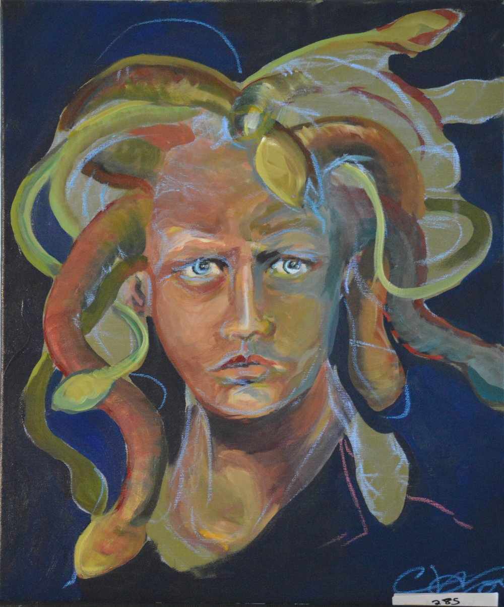 "#10 Charles William ""Facial"" ""Medusa"", 20 x 24, $5000"