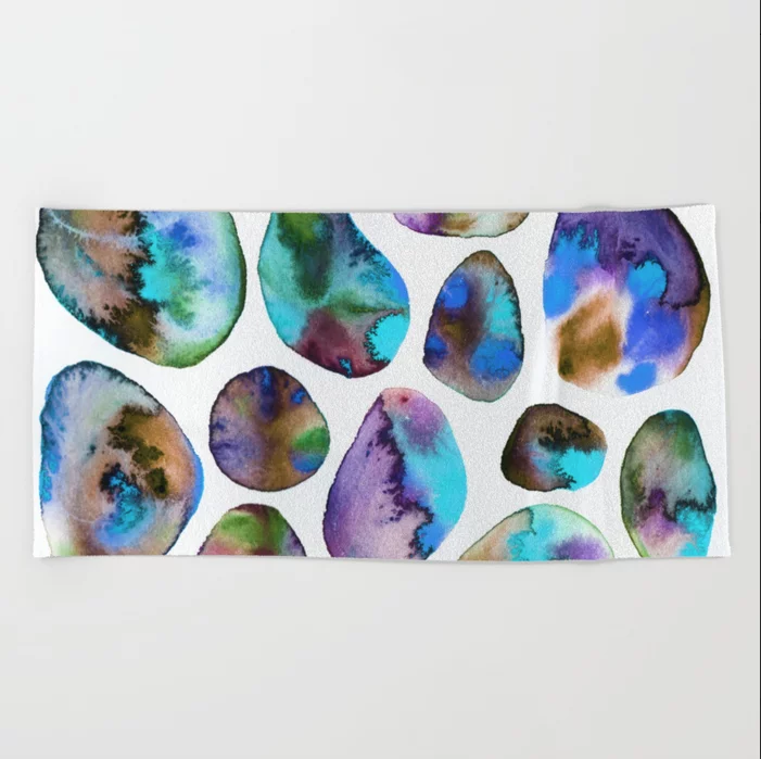 Auras Beach Towel