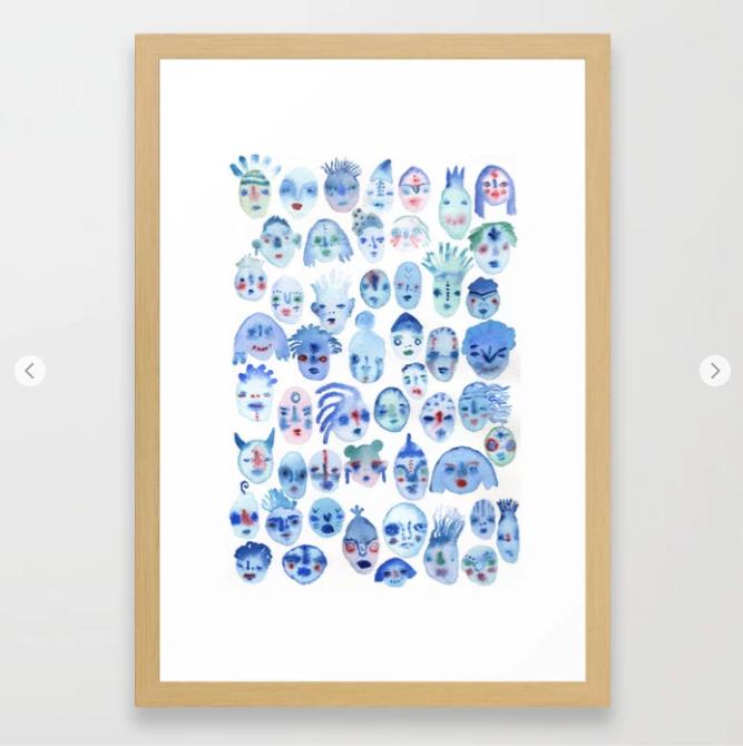 Water Spirits Print