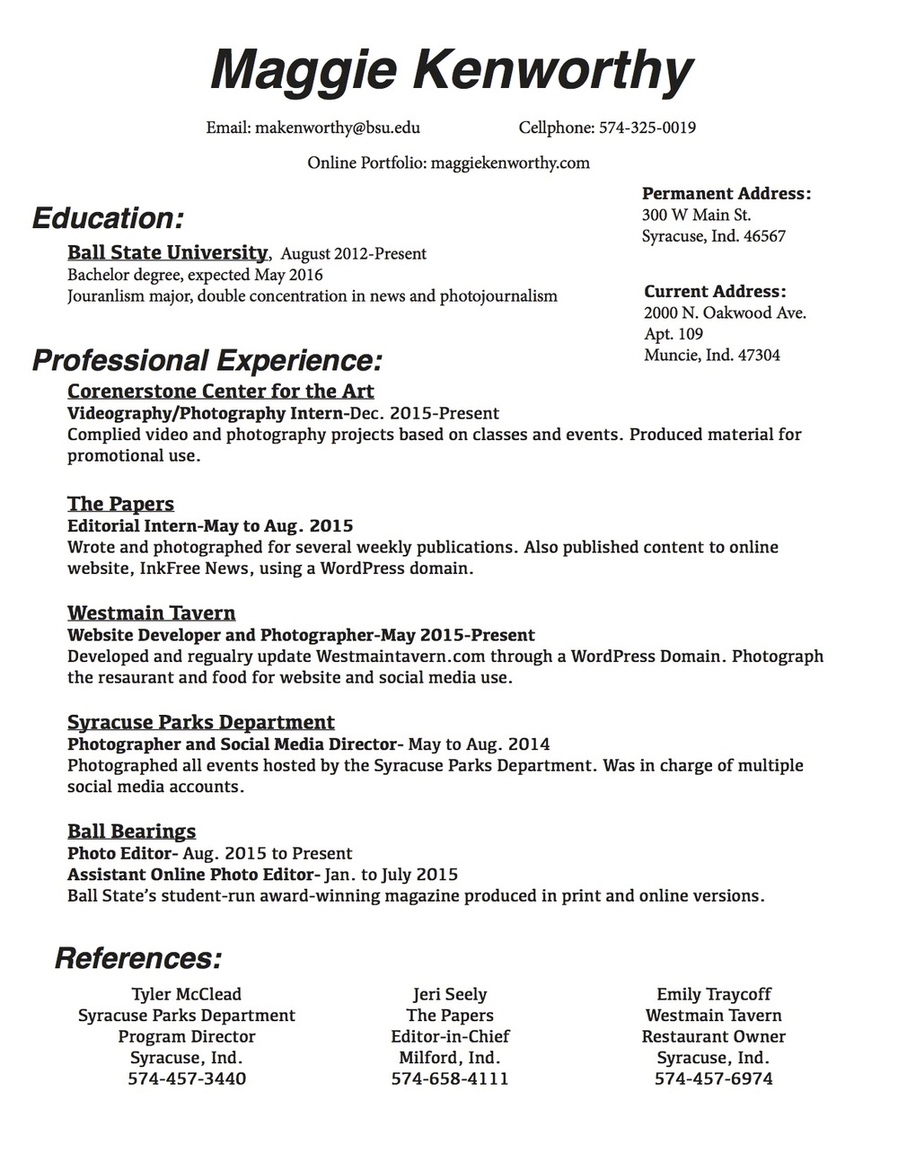 Writing The College Essay - Swampscott High School resume double ...