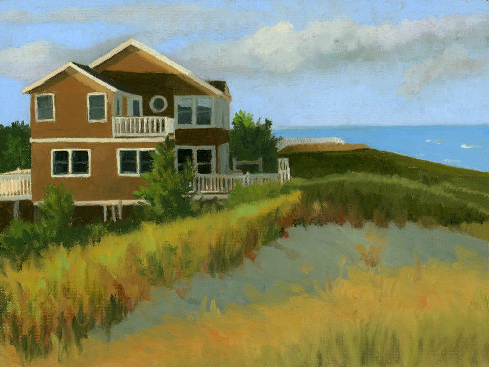 Evening Light on Beach House large.jpg