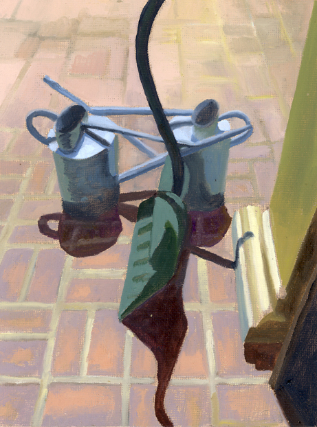 CONVERSATION BETWEEN WATERING CANS AND SNOW SHOVEL small.jpg