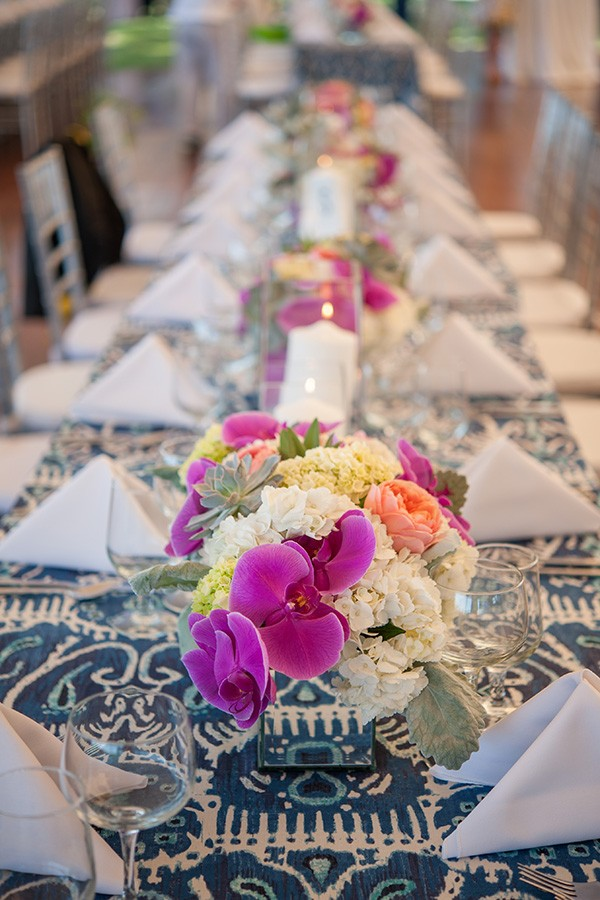 azaleaevents.com wedding table setting