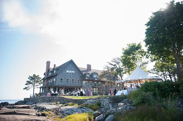 azaleaevents.com wedding at the big house kennebunkport maine
