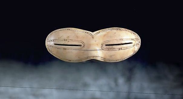 Ivory Snow Goggles from the Baffin Island In Canada