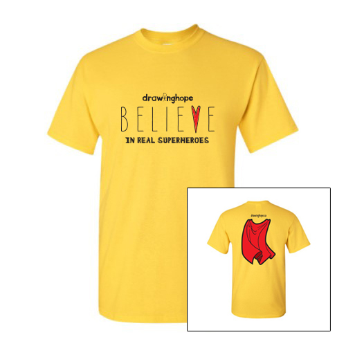 BELIEVE IN REAL SUPERHEROES!  Click the image to visit the shop!