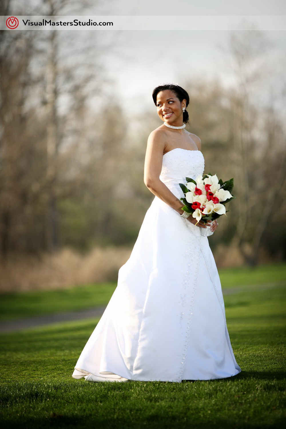 Portrait of the Bride at Pelham Bay & Split Rock Golf Course by VisualMasters