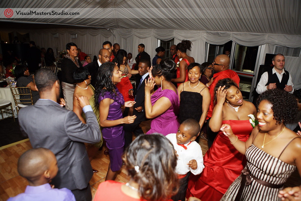 Packed Dance Floor at Pelham Bay & Split Rock Golf Course by VisualMasters