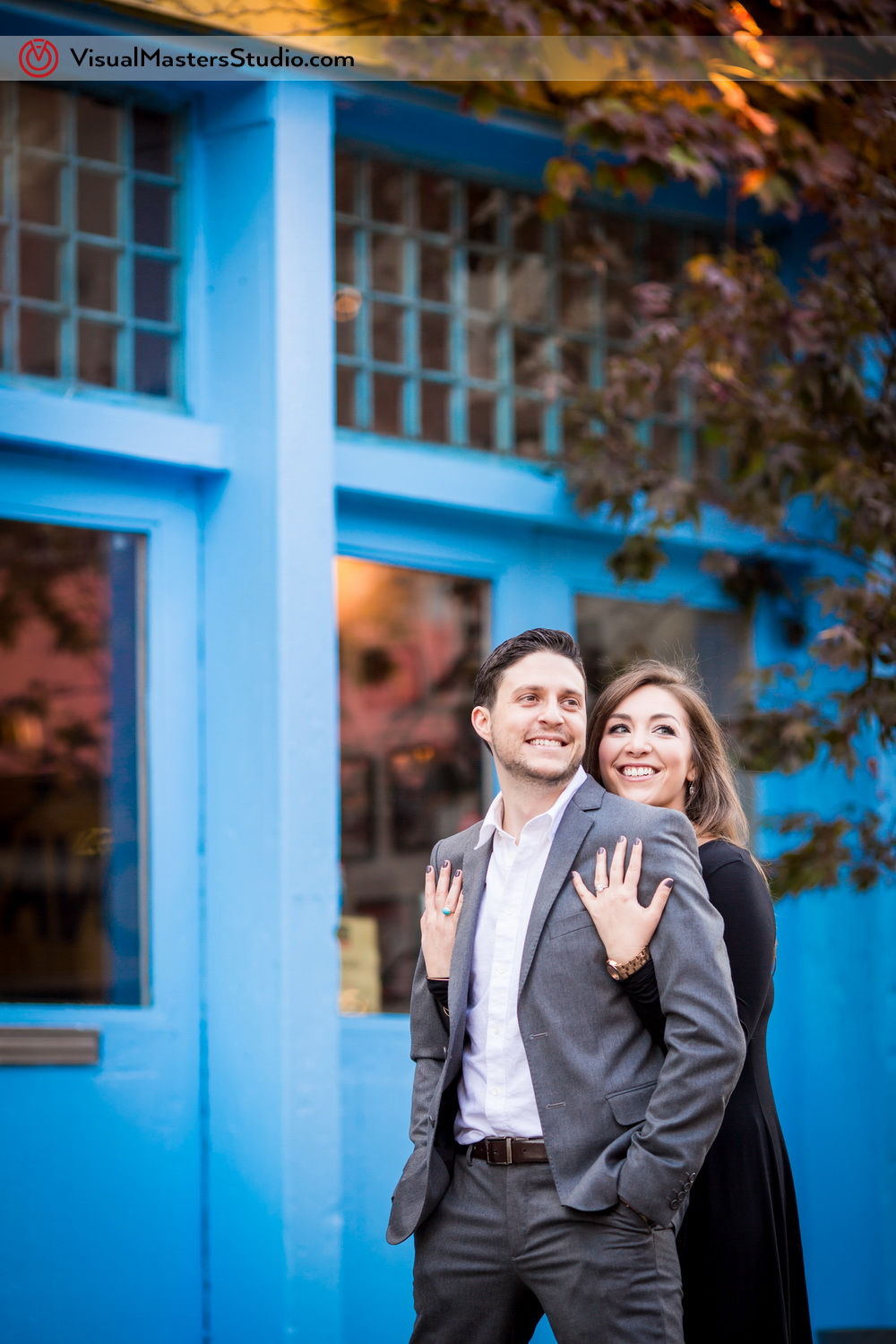 Meatpacking District Engagement Session by Visual Masters