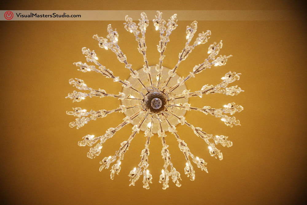 chandelier at Stony Hill Inn by Visual Masters