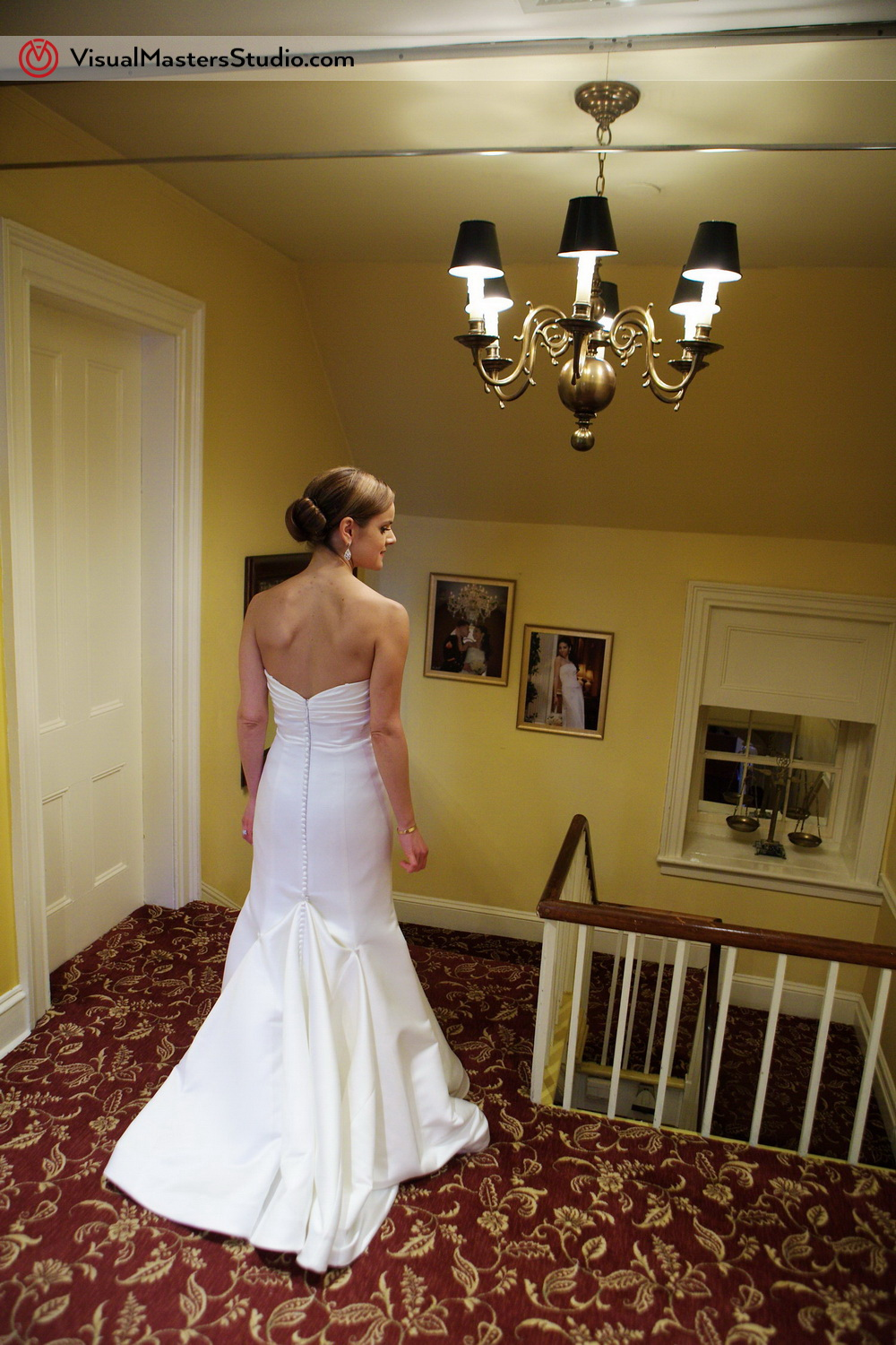 Bridal Portrait at Stony Hill Inn by Visual Masters