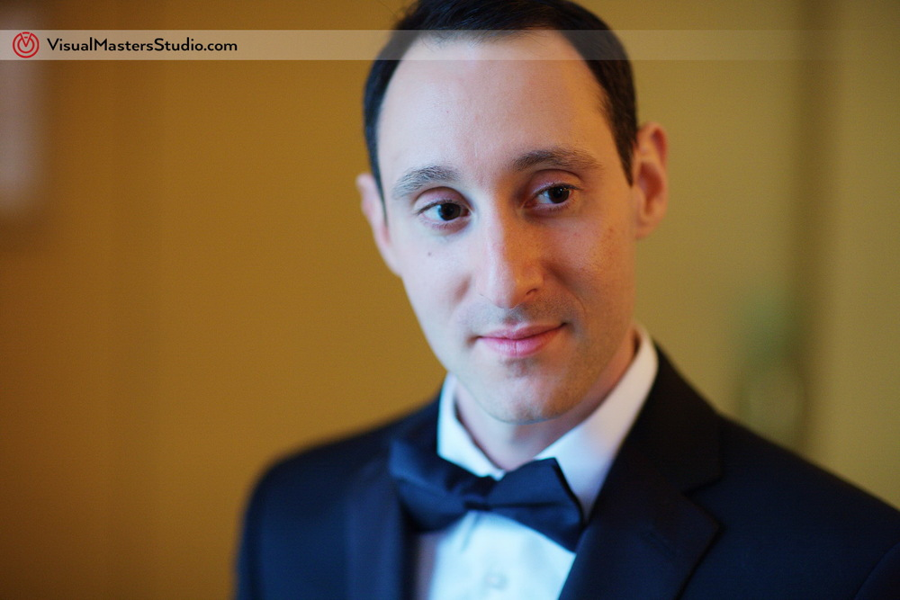 Groom Closeup at Stony Hill Inn by Visual Masters