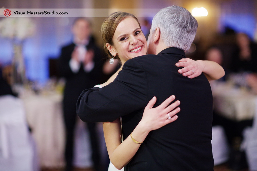 Bride Dancing with Father at Stony Hill Inn by Visual Masters