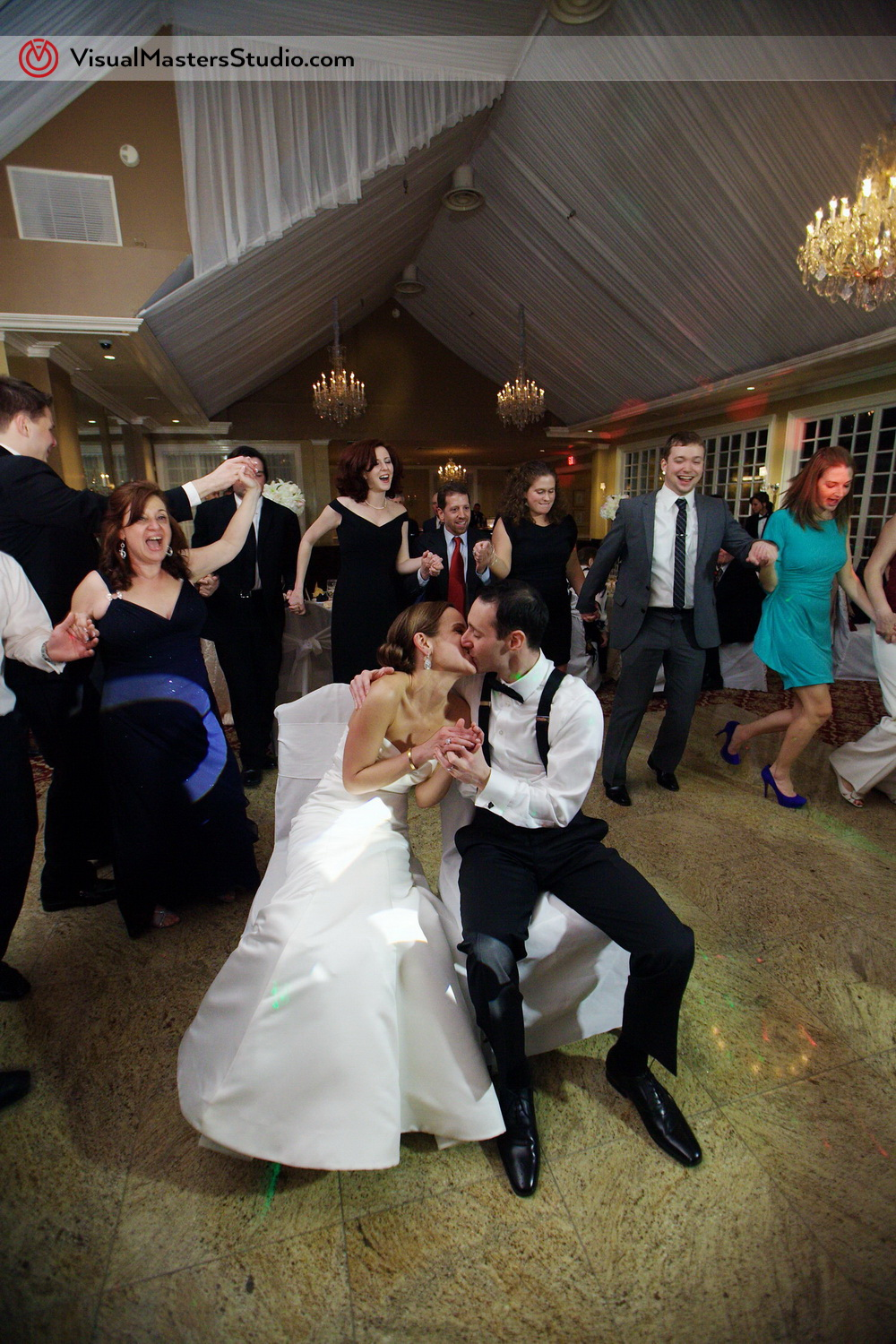 Traditional Jewish Dance at Stony Hill Inn by Visual Masters