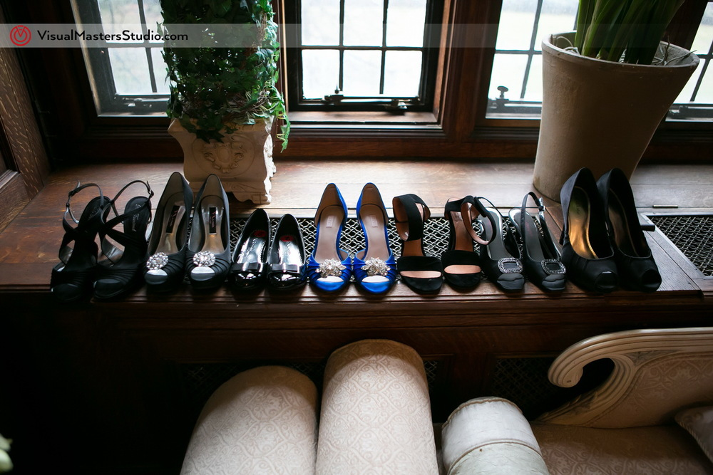 Bridal Party Shoes by Visual Masters