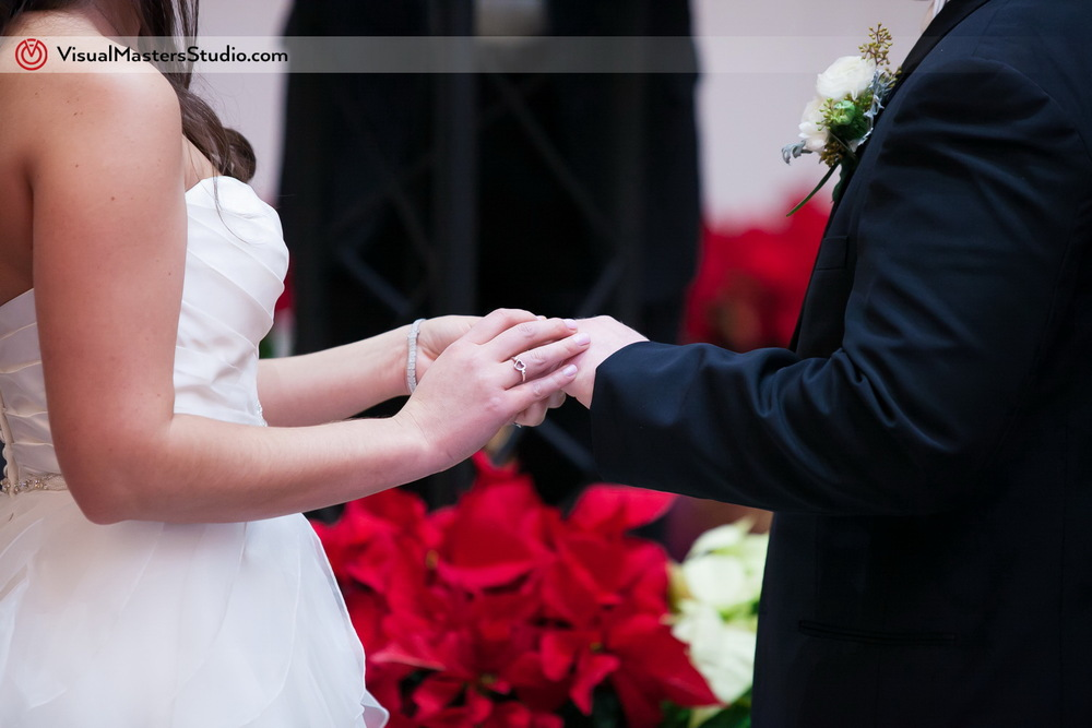 Wedding Ring Ceremony by Visual Masters