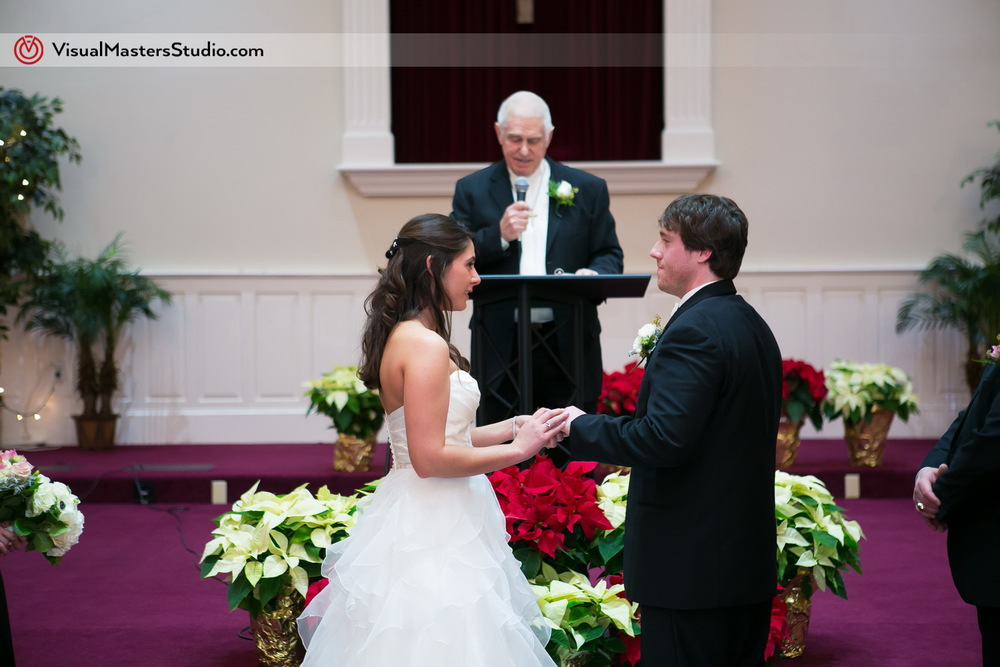 Ceremony at Grace Church by Visual Masters