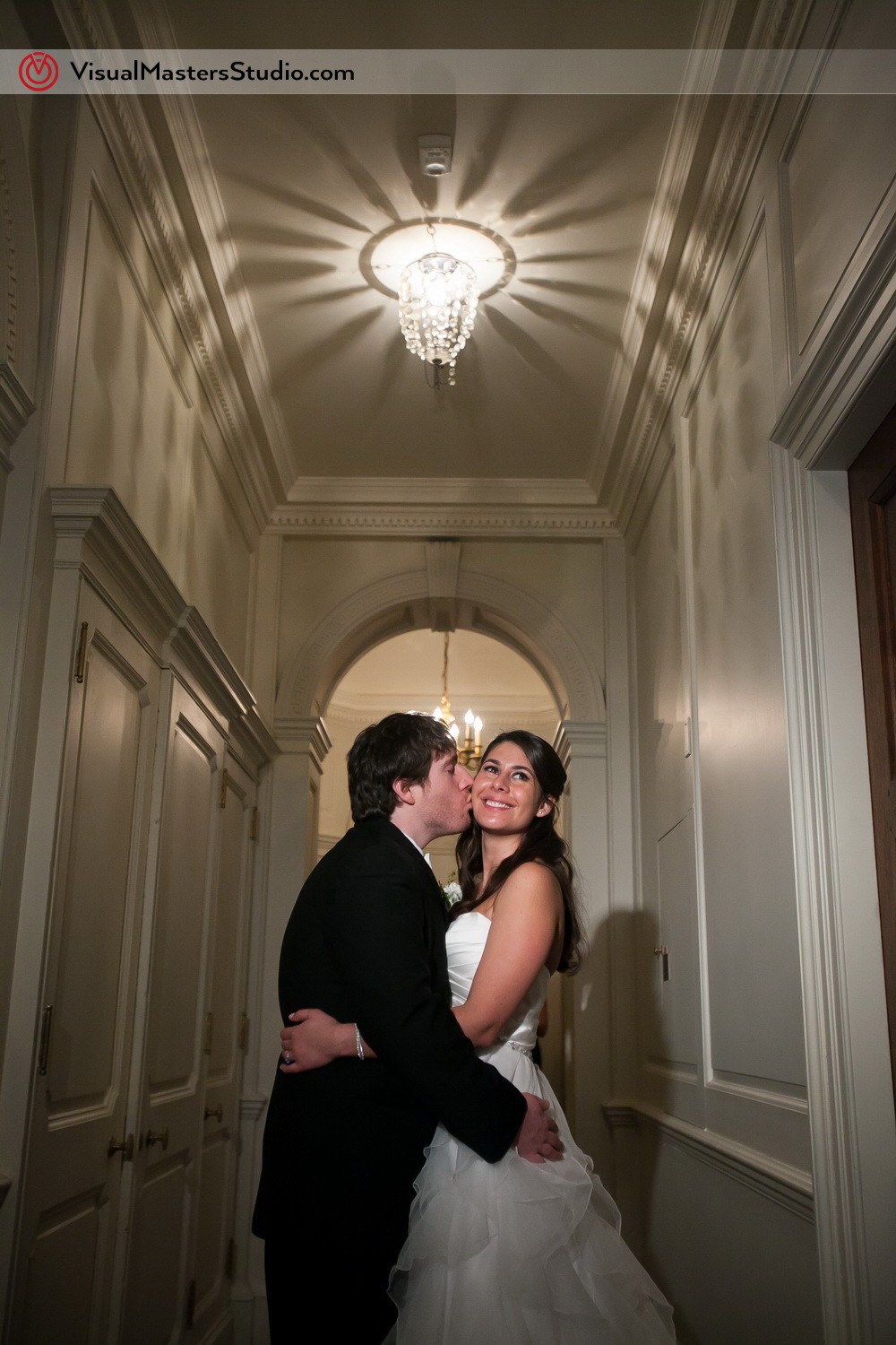 In the hallway at The Castle at Skylands Manor by Visual Masters