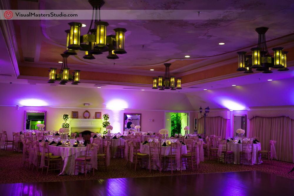 Reception Hall at The Castle at Skylands Manor by Visual Masters