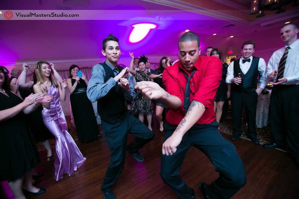 Wedding dancing at The Castle at Skylands Manor by Visual Masters