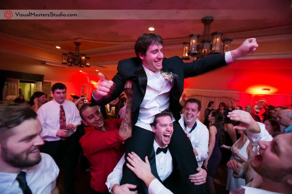Groom on the shoulders by Visual Masters