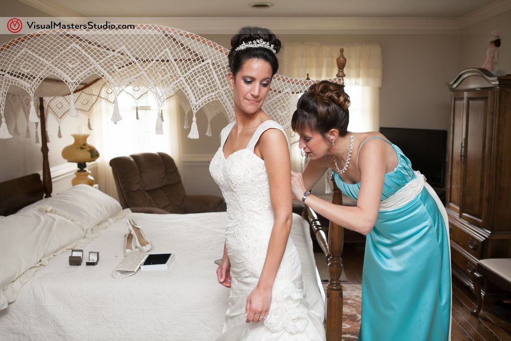 Bride Getting Ready by Visual Masters