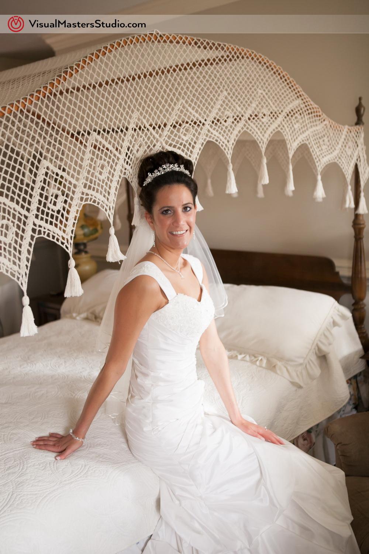 Bride Posing  by Visual Masters