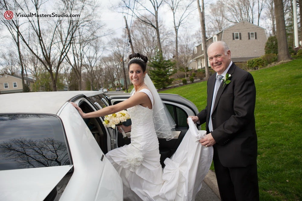 Bride with her Father by Visual Masters