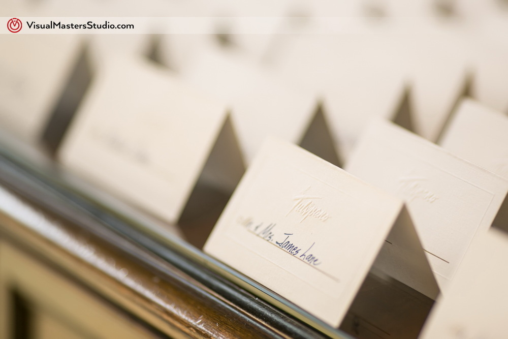 Place Cards at IL Tulipano by Visual Masters