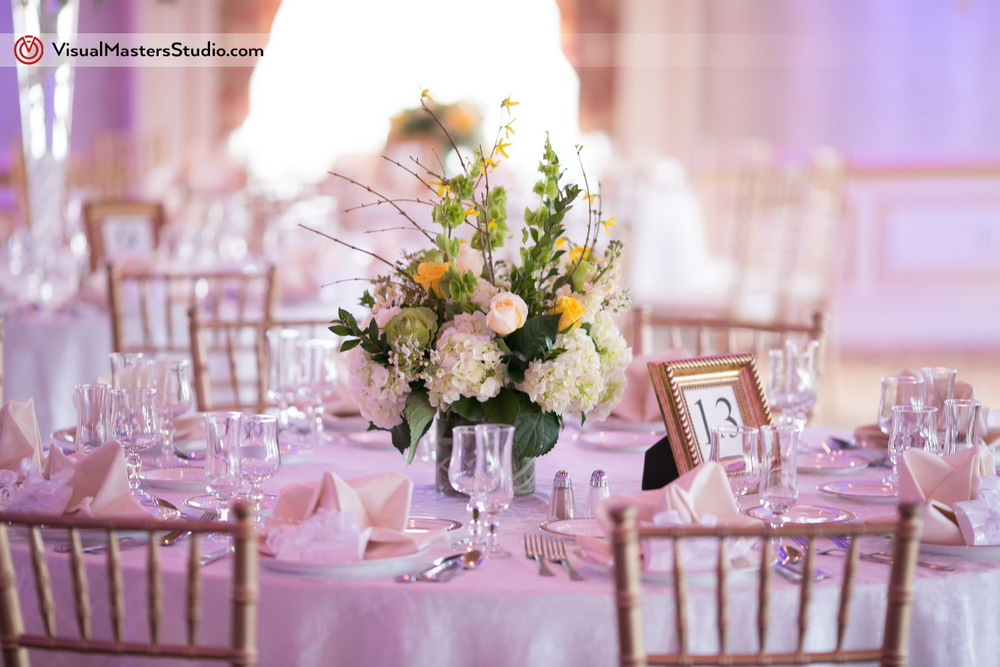 Table Decoration at IL Tulipano by Visual Masters