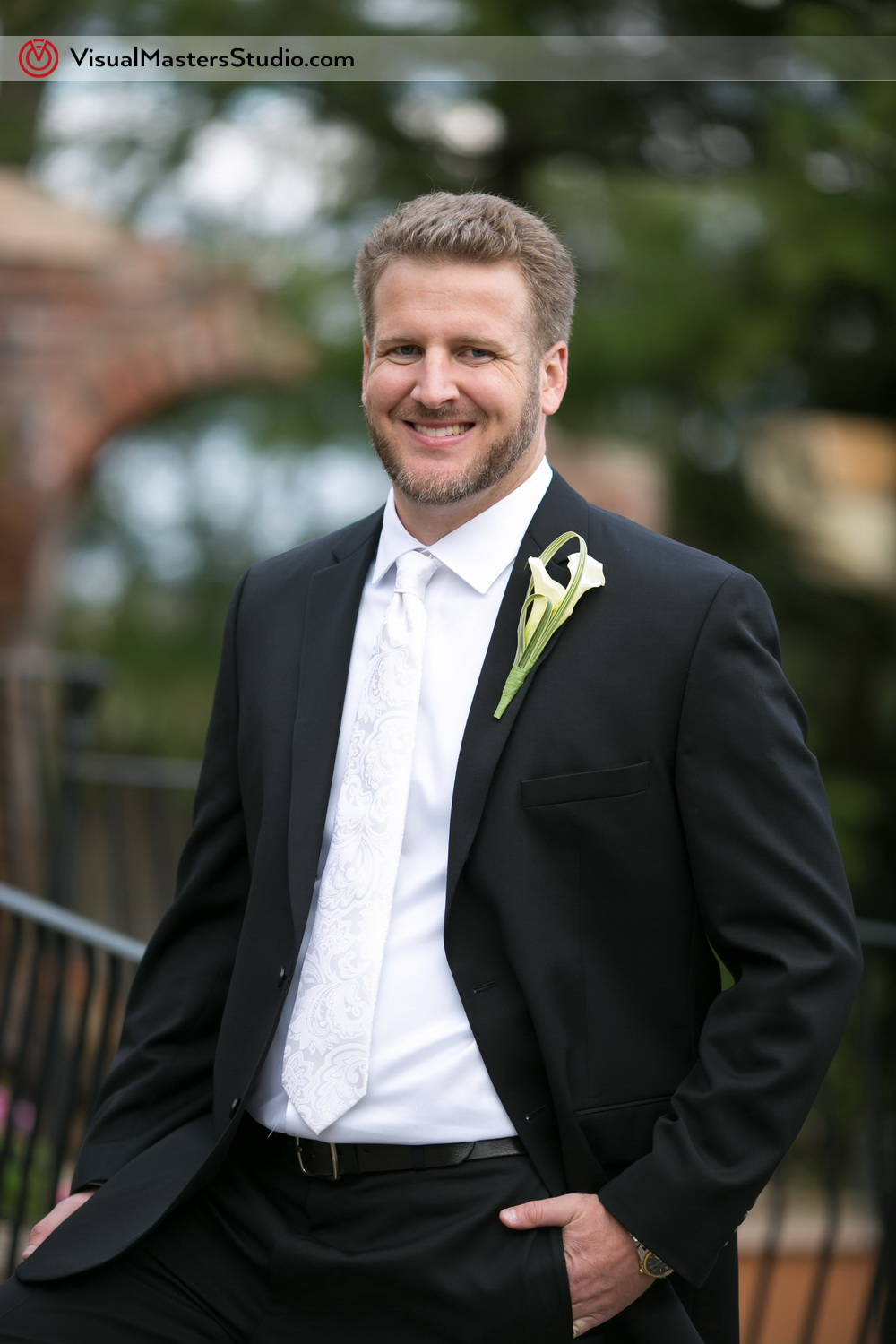 Groom Portrait by Visual Masters