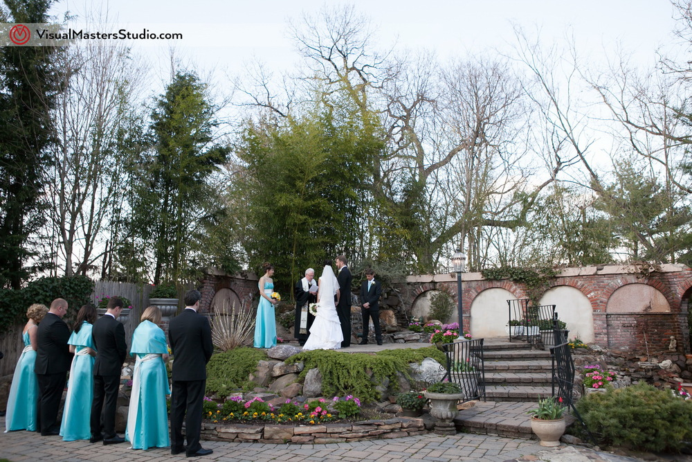 Ceremony at IL Tulipano by Visual Masters