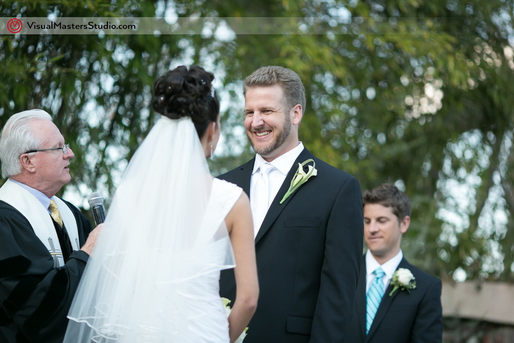 Wedding Ceremony at IL Tulipano by Visual Masters