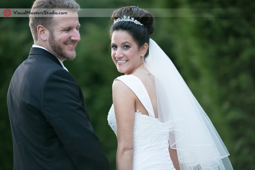 Bride and Groom Portrait  at IL Tulipano by Visual Masters