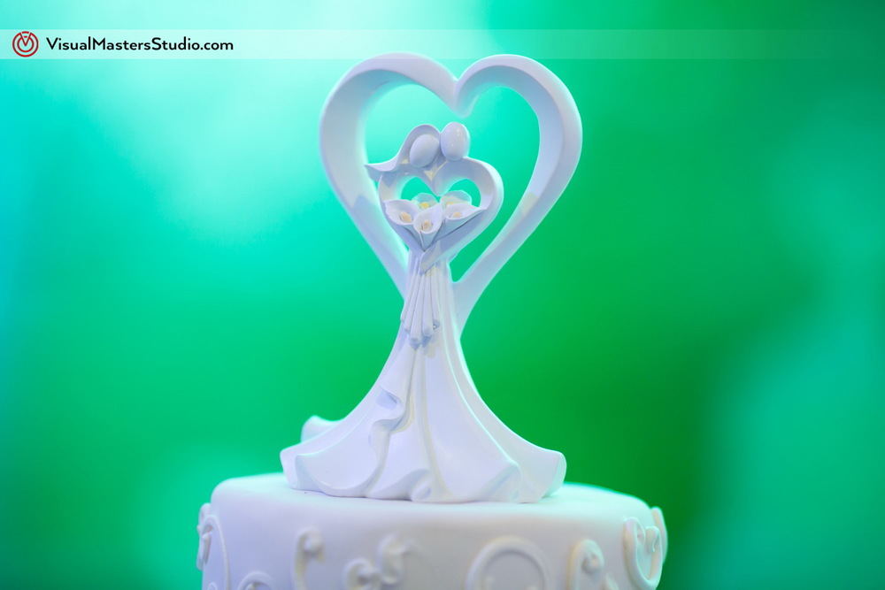 Cake Topper at IL Tulipano by Visual Masters