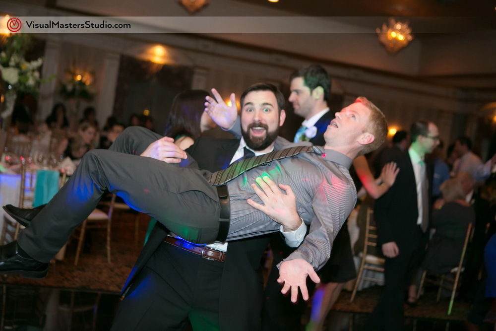 Silly Groomsman at IL Tulipano by Visual Masters