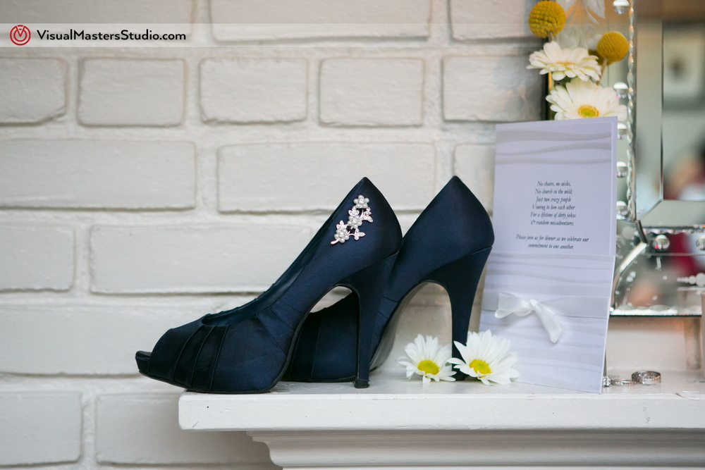 Navy Blue Wedding Shoes by Visual Masres