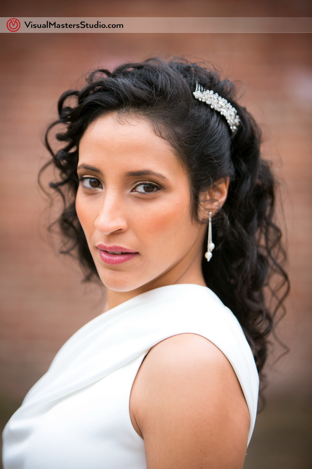Beautiful Bride Portrait By Visual Masters