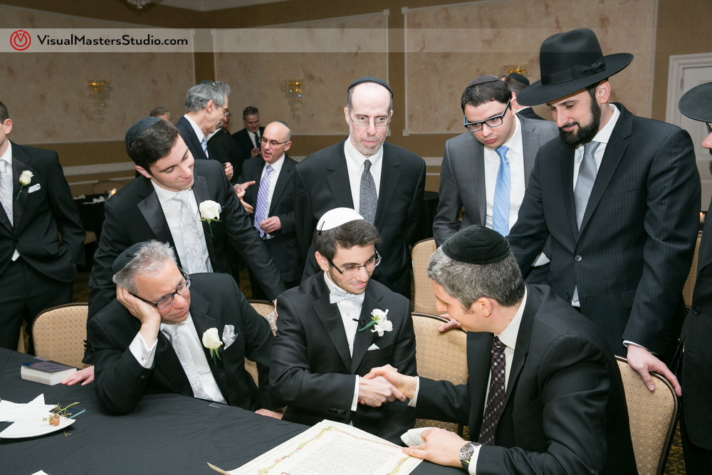 Ketubah Signing at The Wilshire Grand by Visual Masters