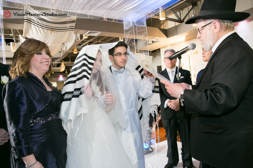 Kiddushin Ceremony at The Wilshire Grand by VIsual Masters