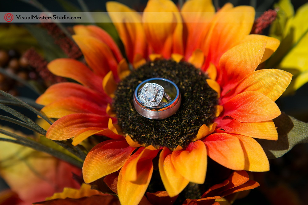 Weeding Rings in the Flower by Visual Masters