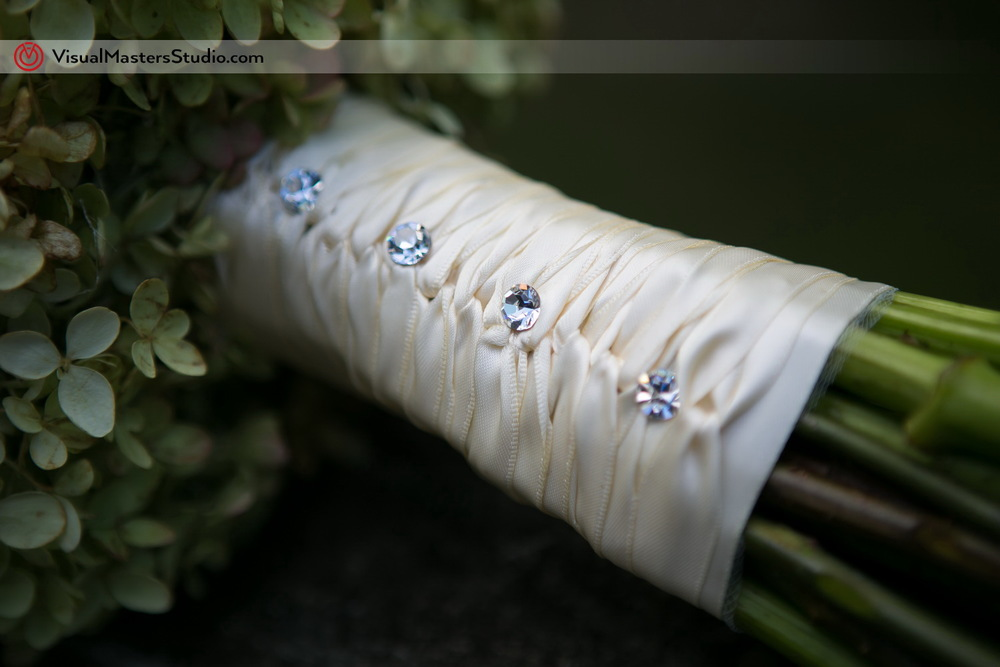 Bouquet Wrap with Rhinestones by Visual Masters