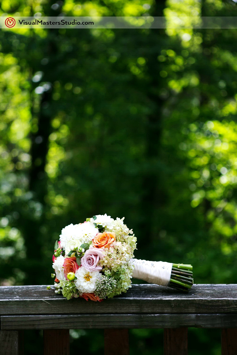 Colorful Bridal Bouquet by Visual Masters