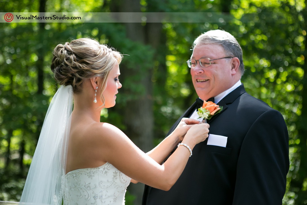 Orange Boutonniere by Visual Masters
