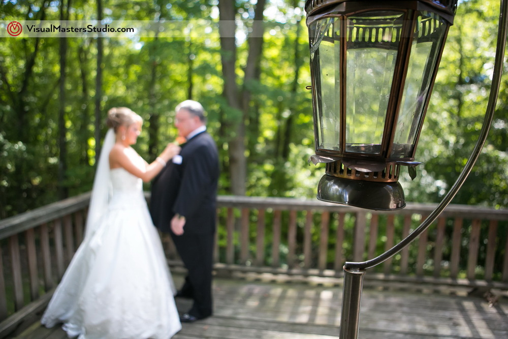 Candid Bride Halping Her Father by Visual Masters