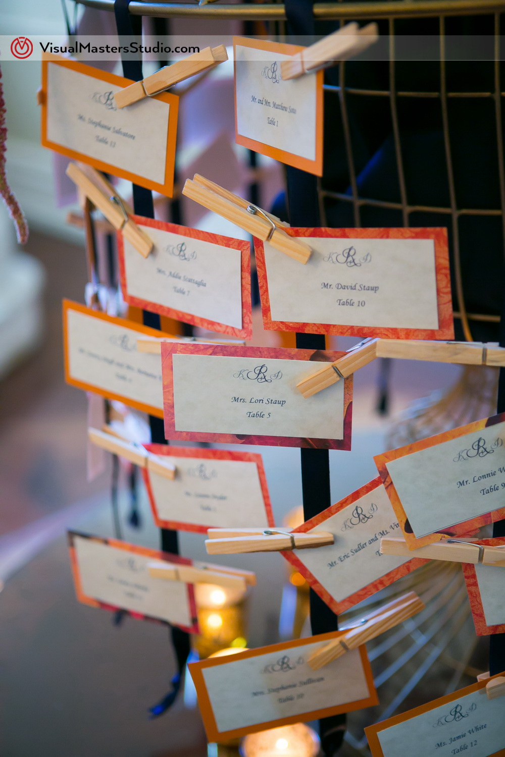 Place Cards Ideas by Visual Masters