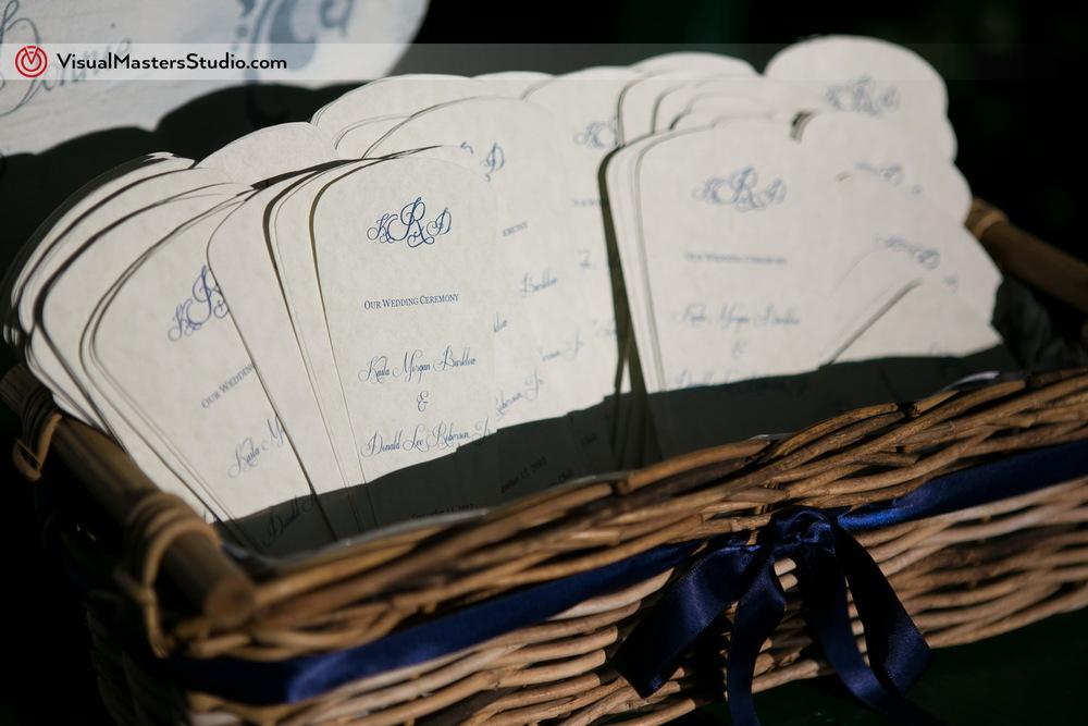 Wedding Program Ideas by Visual Masters
