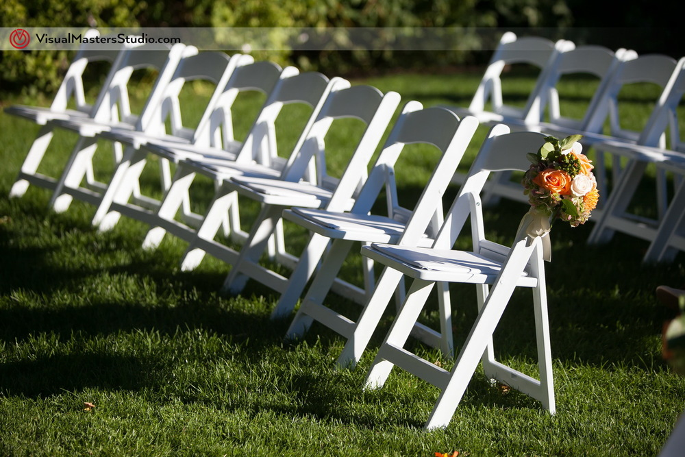 Outdoor Seating Arangments  at Preakness Hills Country Club by Visual Masters