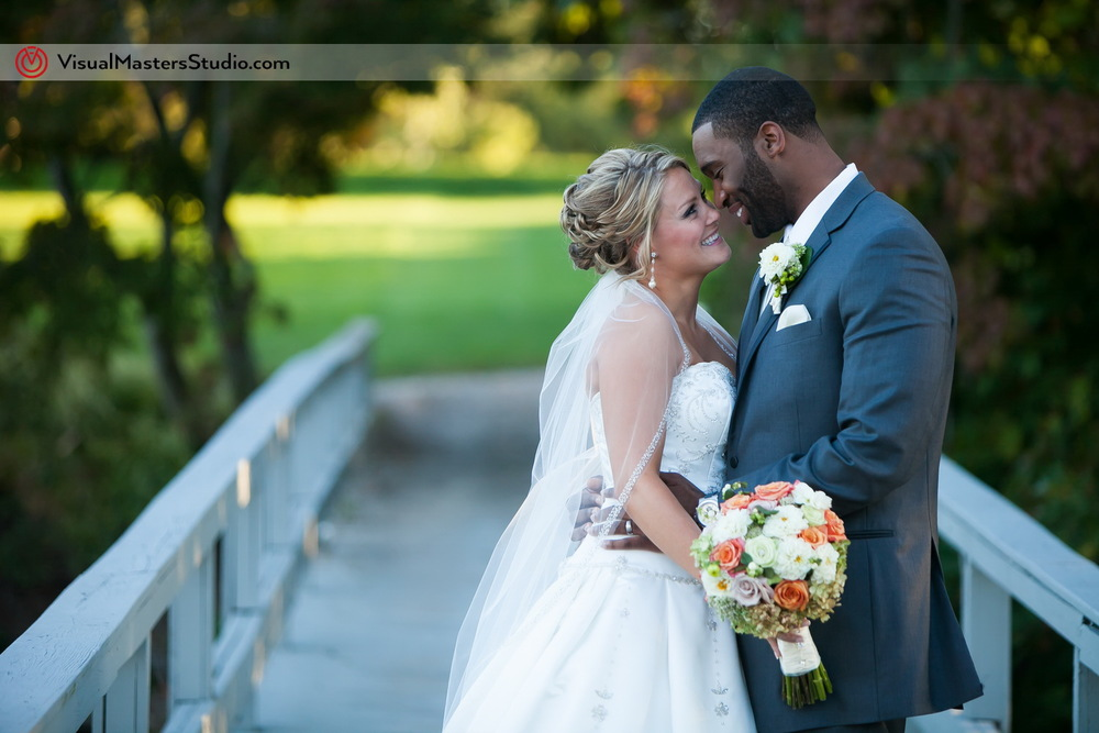 Bride and Groom Photo Session  at Preakness Hills Country Club by Visual Masters